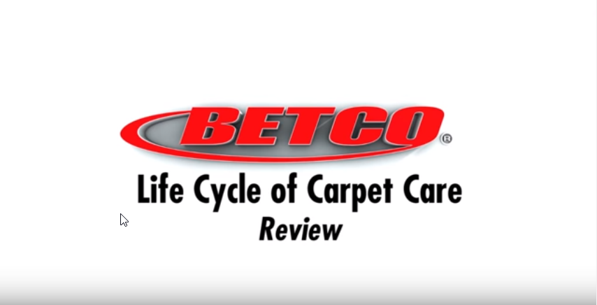 Betco Carpet Care - Review - Pt. 4